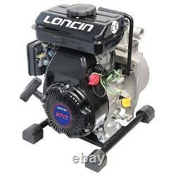 Nouveau Loncin Lc25zb21-1.2q 1 Pouce / Pompe À Eau De 25 MM Essence 4 Temps 8000 L Hour