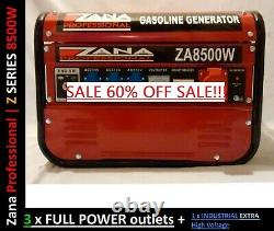Nouvelle Zana Professionnelle Générateur De Gazoline Za8500w Acheté Pour 1459 Vente 60 % Off