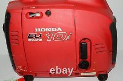 Onduleur De Générateur D'essence Portable Honda Eu10i Hardly Utilisé Camping-car 1kw