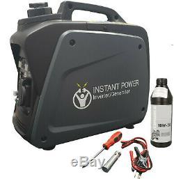 Onduleur Valise Portable Essence Générateur 4 Stroke 6.5hp 2000w 12v 240v