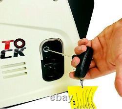 Onduleur Valise Quiet Portable Essence Générateur 4 Stroke 4hp 1200w 12v 240v