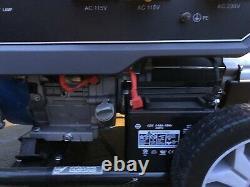 P1pe 7.9kw Recul Et Site De Démarrage Électrique Double Carburant Essence / Gpl Générateur