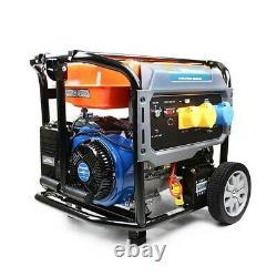 P1pe P10000le 7.9kw / 9.8kva Recul & Electric Start Site Essence Generator