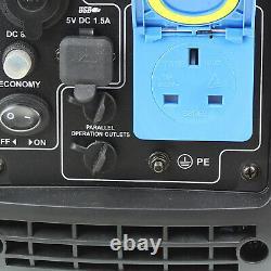 P1pe P2500i 2200w Portable Petrol Inverter Suitcase Générateur De Loisirs 2.2kw