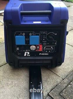 P1pe P4000i 400w Remote Key Electric Start Générateur D'onduleur À Essence. Négocier