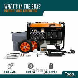 Pour Les Secours D'urgence 3000/3600-watt Essence Alimenté Générateur Électrique Portable