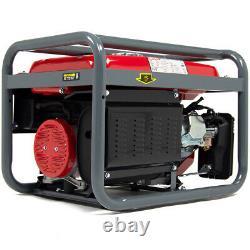 Powerking Générateur D'essence Pkb5000es 3200w Wolf 7hp Electric Start Wheel Kit
