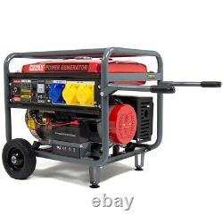 Powerking Générateur D'essence Pkb8500e 6500w 15hp Wolf 4 Stroke Démarrage Électrique