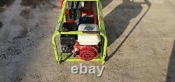 Pramac 3200 3.2 Kva Generator Honda 110 Volt Gx160 Site Pétrolier Genny