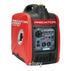 Predator 2000 Watt Super Quiet Onduleur Generator Nous Expédions Gratuitement À Porto Rico