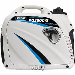 Pulsar Pg2300is 2 300 Watt Portable Petit Générateur D'onduleur Alimenté Au Gaz