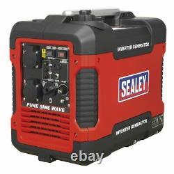 Sealey G2000i Générateur Onduleur 2000w 230v Moteur 4 Temps
