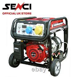 Senci Sc4000-ii Générateur D'essence 3.76kw Avec Démarrage Électrique