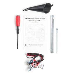 Silencieux Inverter Essence Générateur W4500i 2000w Camping Portable Puissance 4 Temps