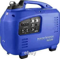 Silent Petrol Generateur 2.2 Kw Electric / Remote Start Uk Warranty 1 Seulement Réduit