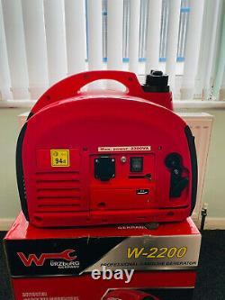Silent Suitecase W2200 Générateur D'onduleur À Essence 2kw