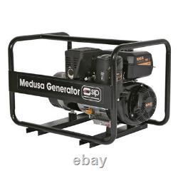 Sip 04355 Medusa Mgkp7 7,5kva Kohler Petrol Générateur 230/110volt 32 & 16amp
