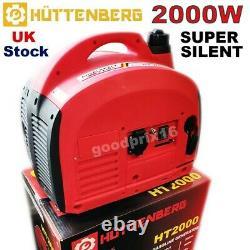 Suitecase Mobil Genset Skt 2000w Camping Essence Inverter Generator