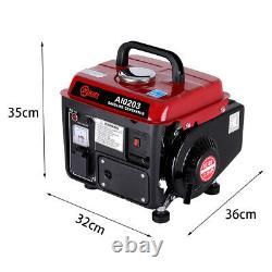 Uk Silent Inverter Générateur De L'essence 750w 2.0 HP Portable Camping 2 Avc Moteur